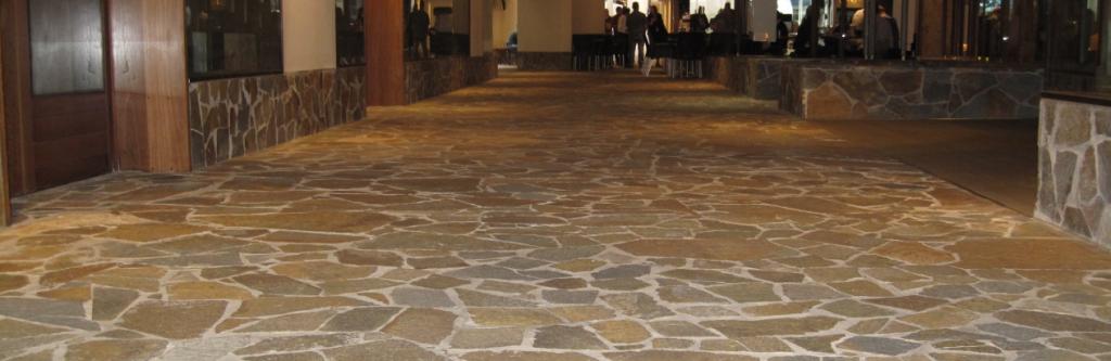 stone tiling